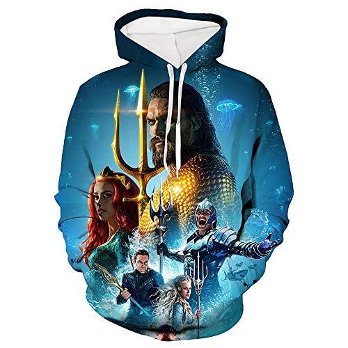 Mens Aquaman Sports Hoodie 3D Printed Fashion Sweatshirt Funny Costumes Baseball Outwear with Pockets]()