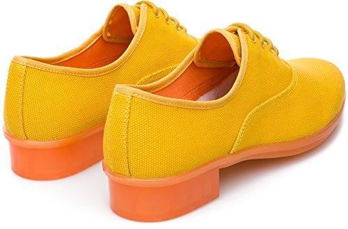 Jaune K200565 Camper 001 Jazz Chaussures Casi Femme Casual aqE04