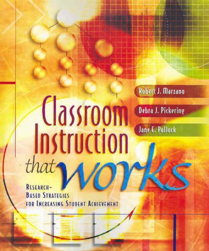 Classroom Instruction That Works Research based product image