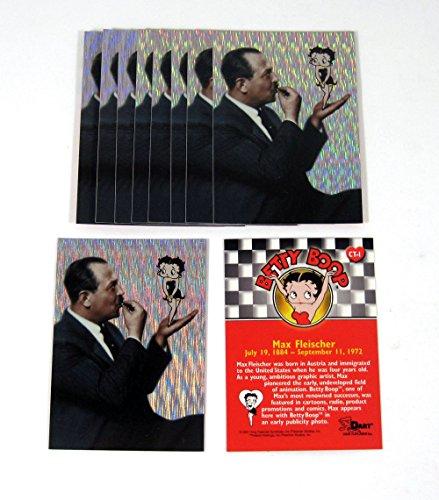 Lot of (10) 2001 Dart Betty Boop Case Topper Chase Card (CT-1) Fleischer Nm/Mt