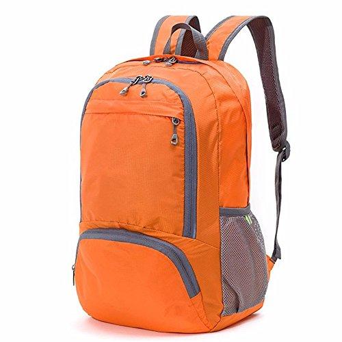 LMDSG Travel folding Rucksack Männer und Frauen Ultra Thin wandern Reisen Rucksack ultra light Portable Sports mini Skin Tasche red NjH1mc2d