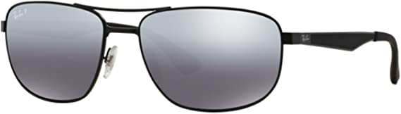 Gafas de sol polarizadas Ray-Ban RB3528 C61 006/82: Amazon.es ...