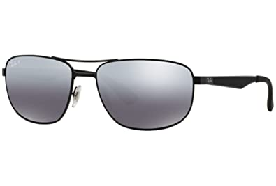 e4242c0e569f9 Amazon.com  Sunglasses Ray-Ban RB 3528 006 82 MATTE BLACK  Clothing