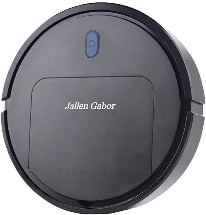 Mopping-Robot Vacuum Cleaner, Tangle-free Suction, Slim, Automatic Self-Charging Robotic Vacuum Cleaner, Daily Schedule Cleaning, Ideal For Pet Hair,Hard Floor and Low Pile Carpet (black)