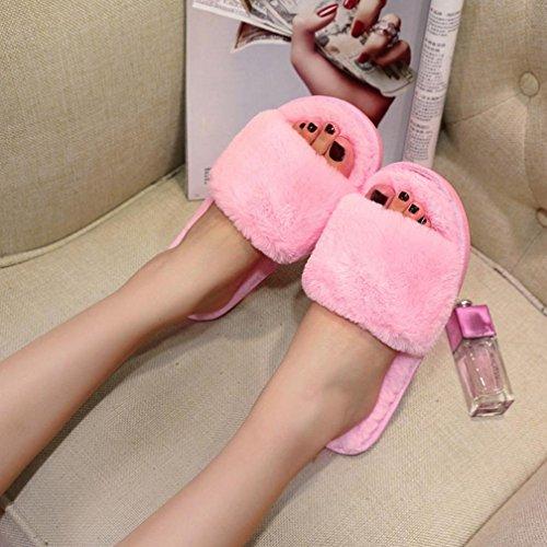 Pantofole Hunpta Hunpta Donna Pantofole Pink Donna FZUqrZwxnt