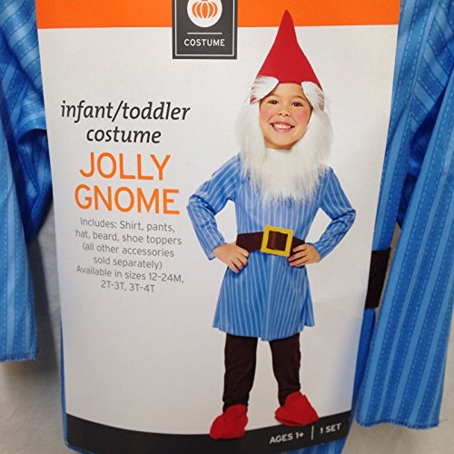 Infant/toddler Jolly Gnome Costume 12-24 MOS -