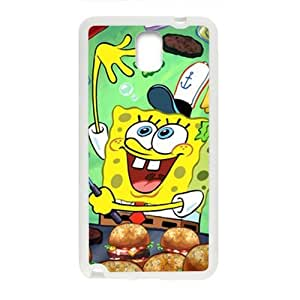 Lovely SpongeBob SquarePants Cell Phone Case for Samsung Galaxy Note3
