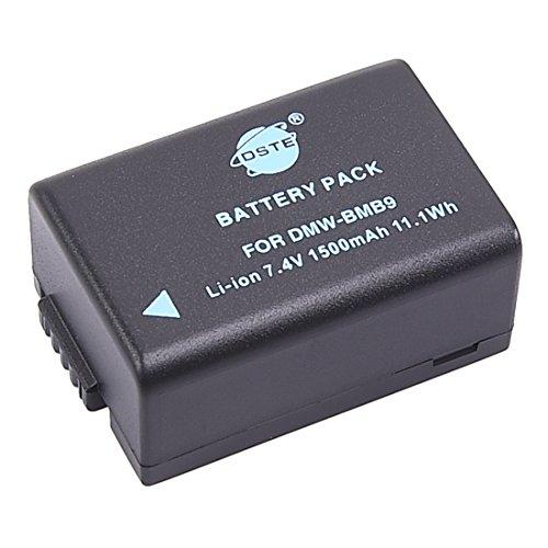 DSTE DMW-BMB9 DMW-BMB9E Replacement Li-ion Battery for Panasonic Lumix DMC-FZ40 FZ45 FZ47 FZ48 FZ60 FZ62 FZ70 FZ72 FZ80 FZ100 FZ150 Leica V-Lux2 V-Lux3 Camera as BP-DC9