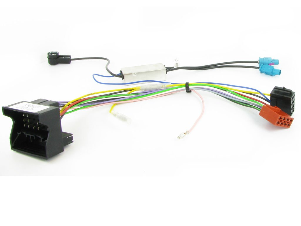 Connects 2 Harness Adapter CT20PE03 Peugeot 207/307/407/607/807 with fakra antenna and phantom Connects2