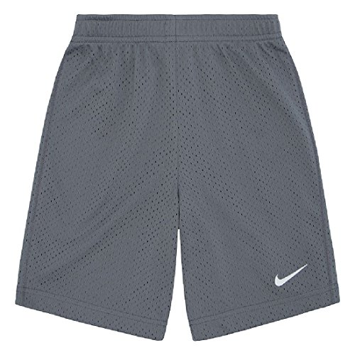 Nike Youth Mesh - NIKE Little Boys' Mesh Shorts Gym (2 Youth, Cool Grey)