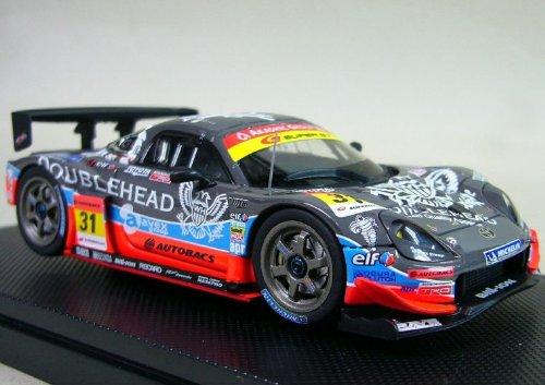 1/43 ダブルヘッド avex apr MR-S スーパーGT300 2008 NGK #31(グレー×ブルー×オレンジ) 「オートバックス SUPER GT 2008シリーズ」 43981