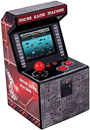 Amazon.es: ITAL Mini Recreativa Arcade (Azul) / Mini Consola Portátil De Diseño Retro Con 250 Juegos / 16 Bits / Máquina Perfecta Como Regalo Friki Para Niños Y Adultos