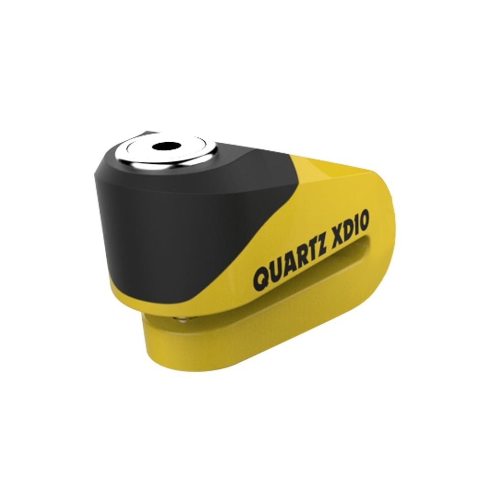 Oxford Quartz XD10 Disc Lock (10mm pin) Motorcycle Oxford Quartz XD10Disc Lock 10mm Pin Yellow UK Seller LK267