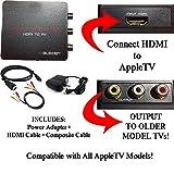 HDMI to 3RCA Composite AV Converter for AppleTV - Best Reviews Guide