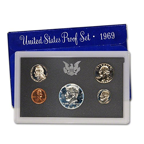 1969 S US Proof Set Superb Gem Uncirculated