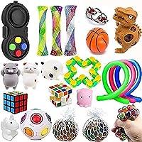 Lelestar Sensoriska leksaker, Fidget-Leksaker för Barn och Vuxna, Lindrar Stress och ångest Fidget-Leksak…