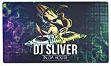 Inked Playmats DJ Sliver Playmat Inked Gaming Perfect for MtG Pokemon Hearthstone & YuGiOh Magic the Gathering TCG Game Mat