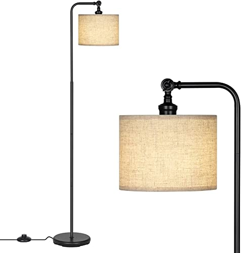 DEWENWILS 63 inch Black Floor Lamp
