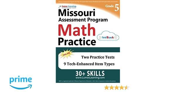 Missouri Assessment Program Test Prep: 5th Grade Math Practice ...