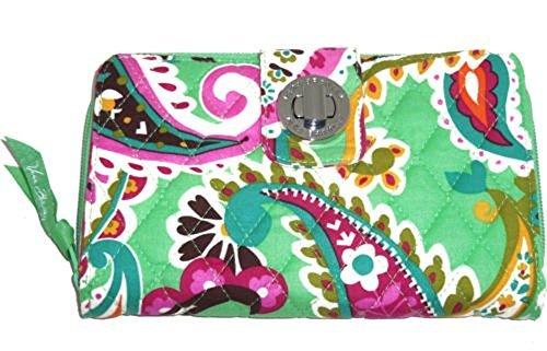 Vera Bradley Turnlock Wallet (Tutti Frutti) ()