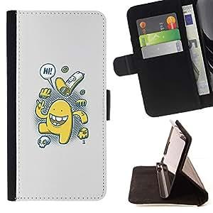 Momo Phone Case / Flip Funda de Cuero Case Cover - Lindo Cookies;;;;;;;; - Samsung Galaxy A3