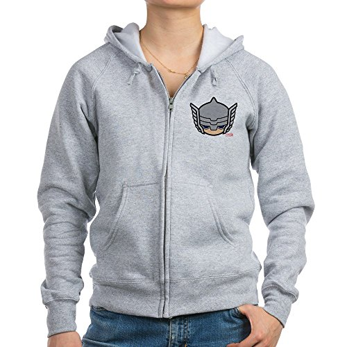 CafePress Thor Icon - Womens Zip Hoodie, Classic Hooded Sweatshirt With Metal (Thor Womens Hoody)