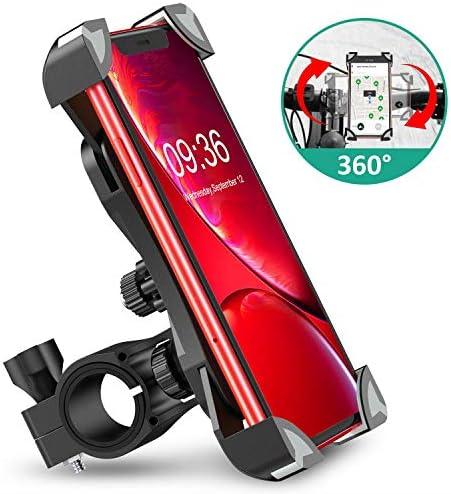 "Cocoda Soporte Movil Bici, 360° Rotación Soporte Movil Moto Bicicleta, Anti Vibración Porta Telefono Motocicleta Montaña para iPhone 11 Pro MAX/XS MAX/XR, Samsung S20/S10 y Otro 4.5-7.0"" MóvilDetalles técnicosInformación adicional"