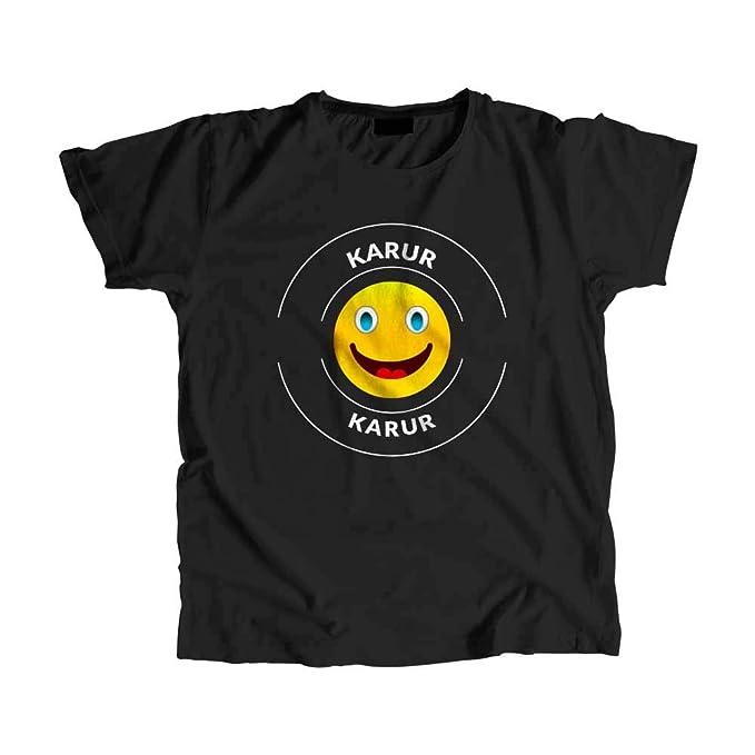 CityPostersPlus Karur Men's T-Shirt Black: Amazon in