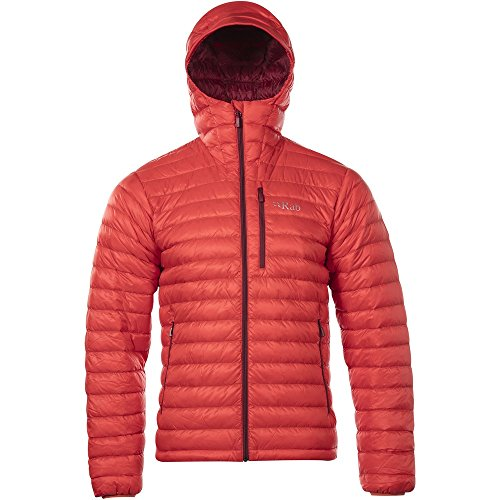 Rab Men's Microlight Alpine Jacket Horizon Rococco