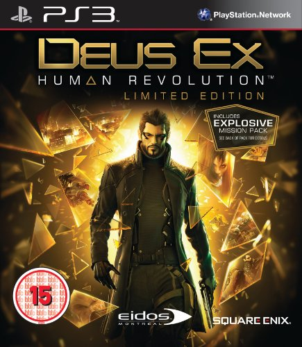Deus Ex Human Revolution Limited Edition (Playstation 3) Including the Explosive Mission Pack [UK Edition, US System