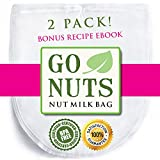 CREATE THE SMOOTHEST NUT MILK WITH GONUTS NUT MILK BAG  Are you changing or enriching your diet? Nut milk & almond milk are healthy dairy substitutes that you can now easily make in your home! The GoNuts bags are the way to go about it. C...