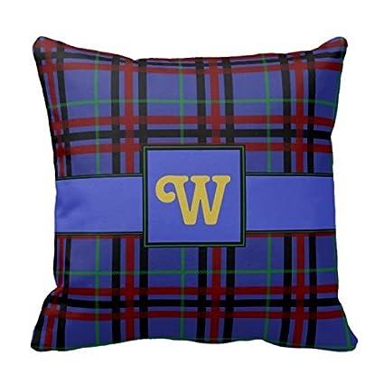 Amazon Decors JewelToned Plaid Throw Pillow Case Cushion Cover Impressive Jewel Tone Decorative Pillows