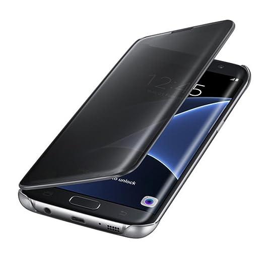 133 opinioni per per Samsung Galaxy S7 edge Sannysis Specchio di lusso Sottile Custodia (nero)
