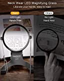 EasyLifeCare Hands Free Chest Rest LED Magnifier