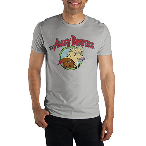 Nickelodeon The Angry Beavers Mens Heather T