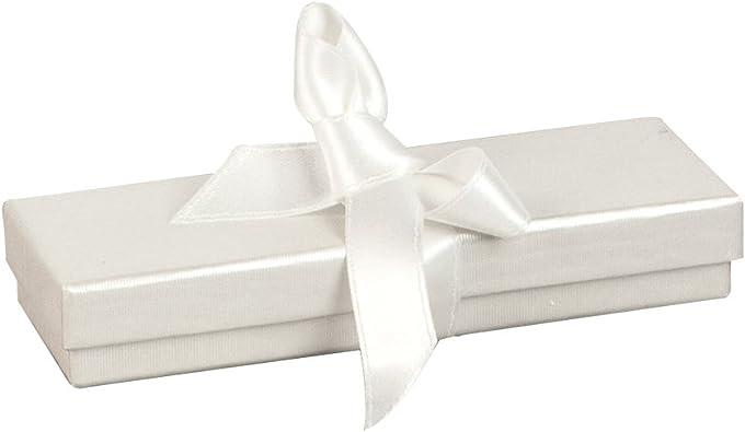 Jouailla-Caja de cartón nacimiento bébé-Cinta, color blanco ...