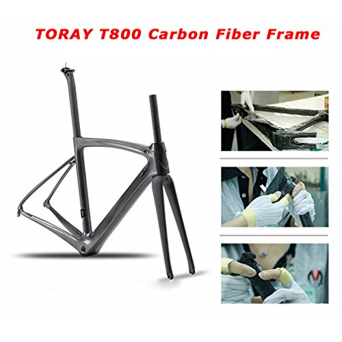 Carbon Road Bike, SAVA HERD6.0 T800 Carbon Fiber 700C Road Bicycle with Shimano 105 22 Speed Groupset Ultra-Light Carbon Wheelset Seatpost Fork Bicycle