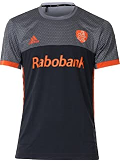 f55e53ad33d adidas Official KNHB Netherlands Replica Kids Junior Hockey World Cup Away  Jersey Top Tee Shirt