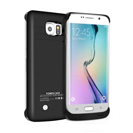 Amazon.com: Galaxy S6 Case, sqdeal 4200 mAh slim fit ...