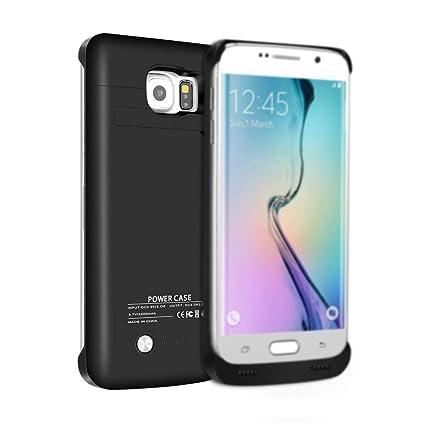 Amazon.com: Galaxy S6 Case, sqdeal 4200 mAh slim fit ...