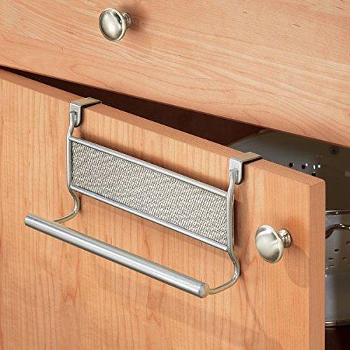 mDesign Decorative Kitchen Cabinet Towel