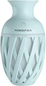 Humidifiers,SOOTOP Essential Oil Diffuser,Air Aroma Essential Oil Cool Mist Vase Aromatherapy Humidifier Color LED Lights Changing Home Office Baby Bedroom Trip Study Yoga Car Outdoor Portable