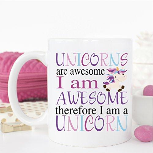 Unicorns are Awesome - Ceramic 15 oz Coffee Mug