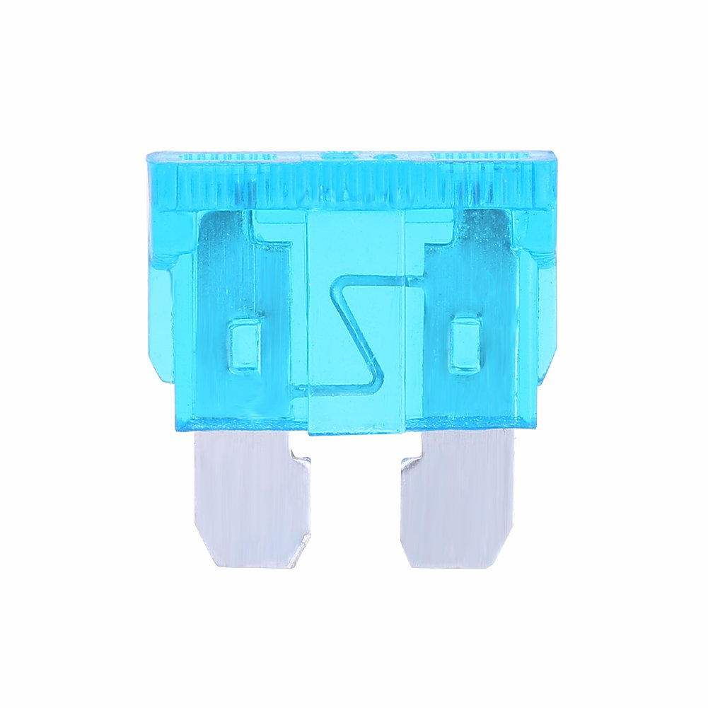 5 Pcs Car Add A Circuit Fuse Tap Adapter Blade Fuse Tap Holder Auto Fuse Adapter with 15A Blade Fuse Micro Mini