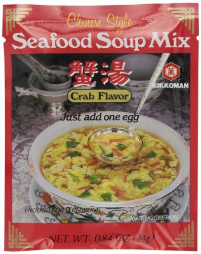 Kikkoman Краб Вкус Китай суп, 0,84 унции единиц (в упаковке 12)