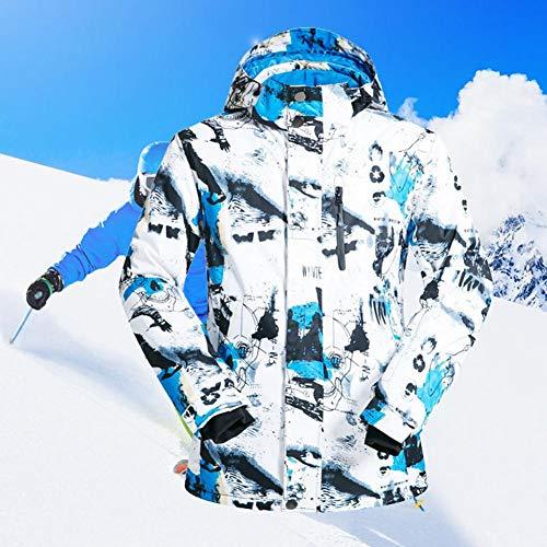 Veste Pour Les De Hommes Blanc Pantalon Technologie Haute Bleu Coloré Et Coupe En Jaune Plein vent Snowboard Imperméable Ski Air Luerme Combinaison Z5xwqaCf7