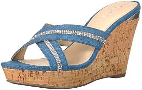 Guess Women's Eieny2 Wedge Sandal