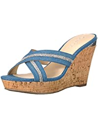 Guess Women's Eieny2 Wedge Sandal