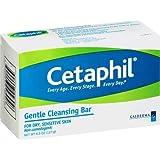 Cetaphil Gentle Cleansing Bar for Dry/Sensitive Skin 4.50 oz (Packs of 12)