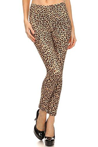 Cheetah Print Leggings - 7